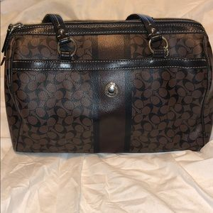 Authentic COACH barrel bag